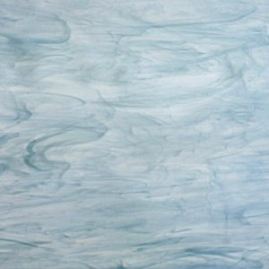 Opal 838-52S White, Colonial Blue