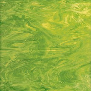 Opal 826-71S Lime Green, White