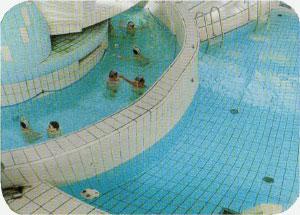 Schwimmbad-Überwachungsspiegel 1000x800 mm für innen