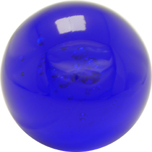 Bubblekugel  70 mm blau
