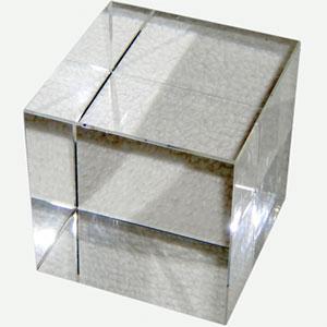 Glaswürfel 20 mm kristallklar