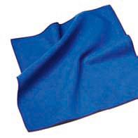 Mikrofasertuch, blau 400x400x0.5 mm