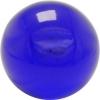 Bubblekugel  80 mm blau