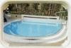 Schwimmbad-Überwachungsspiegel 1000x800 mm für außen