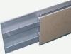 Spiegelschiene für verdeckte Halterung, 80mm (Bohle-Schiene)